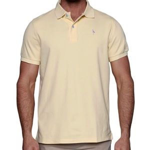 New Tailorbyrd Yellow Polo Shirt Size L